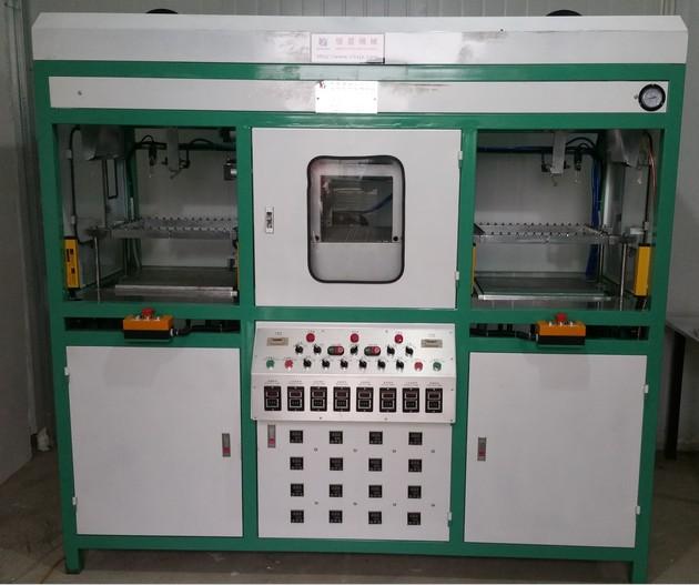 景德镇双工位印刷定位吸塑机