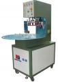 圆盘式高周波热合机 三工位高周波热压机 圆盘式高周波包装机